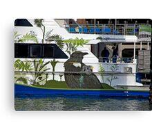 Kiwi Cruise Canvas Print