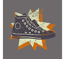 Retro High Tops Photographic Print