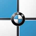 BMW Blue and White by Dimuthu  Sudasinghe