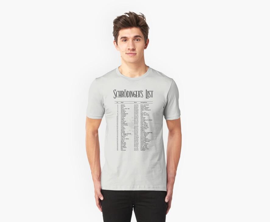 Schrödinger's List by ikado