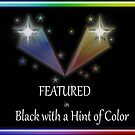 Featured in Black with a Hint of Color banner by debidabble
