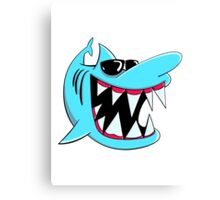 Cool Shark Canvas Print
