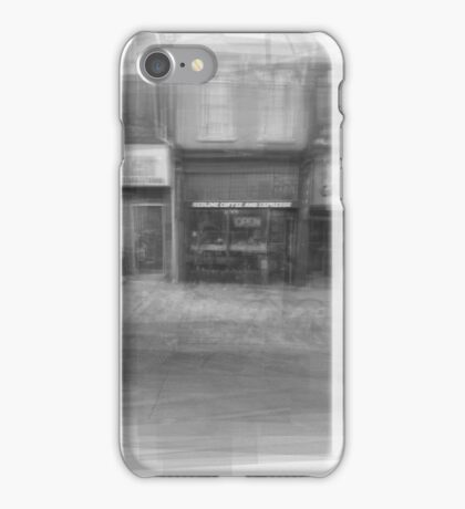 Redline Coffee and Espresso Cafe Streetscape Toronto iPhone Case/Skin