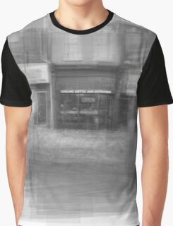 Redline Coffee and Espresso Cafe Streetscape Toronto Graphic T-Shirt