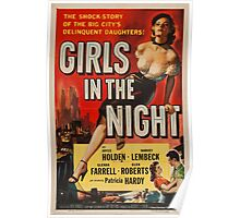 Vintage poster - Girls in the Night Poster