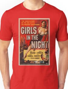 Vintage poster - Girls in the Night Unisex T-Shirt