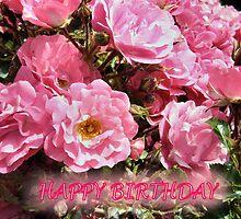 BIRTHDAY BLOOMS by Shoshonan