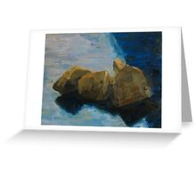 Leaning Stones Greeting Card