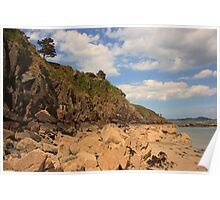 Marble Hill Cliff Poster