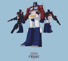 Optimus Prime - (colour) - light T-shirt  Kids Tee