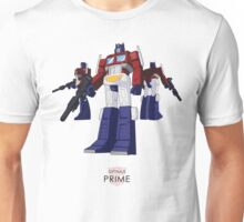 Optimus Prime - (colour) - light T-shirt  Unisex T-Shirt