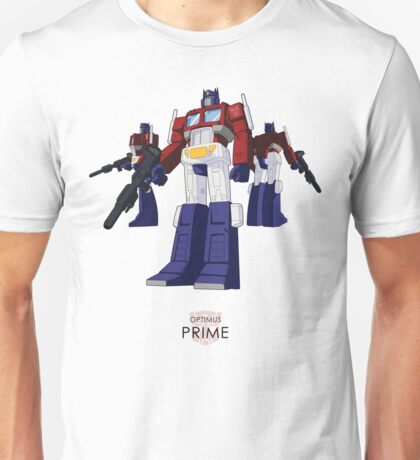 Optimus Prime - (colour) - light T-shirt  Unisex T-Shirt