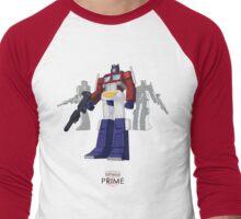 Optimus Prime - (mix) - light T-shirt Men's Baseball ¾ T-Shirt
