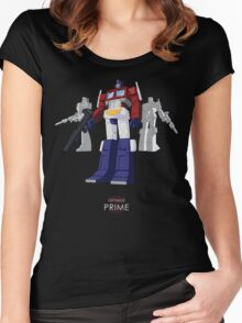 Optimus Prime - (mix) - dark T-shirt Women's Fitted Scoop T-Shirt
