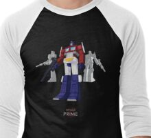 Optimus Prime - (mix) - dark T-shirt Men's Baseball ¾ T-Shirt