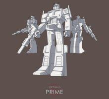 "Optimus Prime - (""model"") - dark T-shirt Kids Clothes"