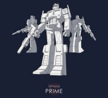 "Optimus Prime - (""model"") - dark T-shirt Kids Clothes"