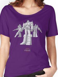 "Optimus Prime - (""model"") - dark T-shirt Women's Relaxed Fit T-Shirt"