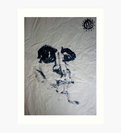 Blind #1 - (blindfolded) -  Art Print