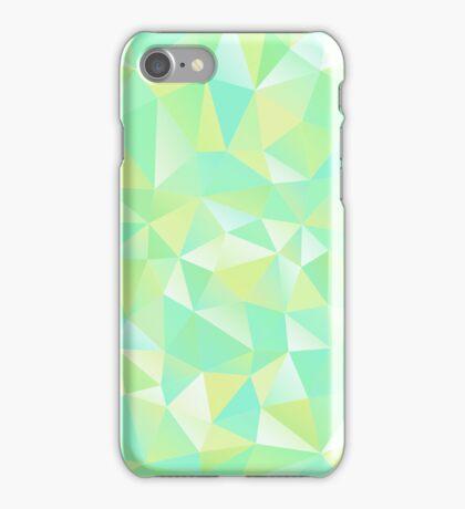green geometrical case iPhone Case/Skin