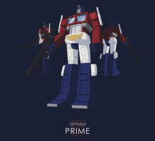 Optimus Prime - (colour) - dark T-shirt  Kids Tee