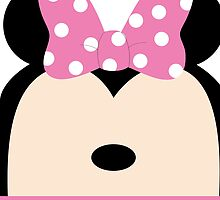 Minnie Pink Bow by graphicloveshop