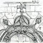 Mosteiro da Batalha sketch by terezadelpilar~ art & architecture