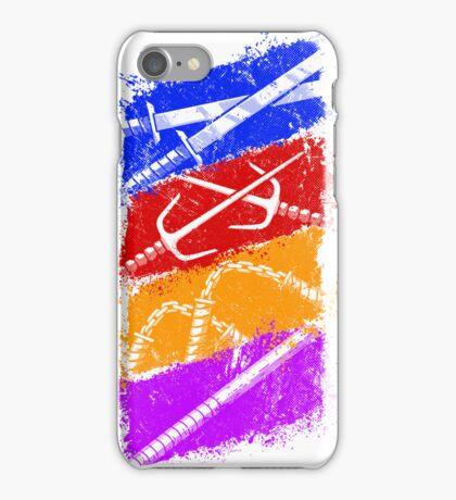 Ninja Weapons of Choice iPhone Case/Skin