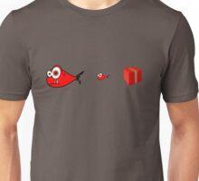 Big Fish, Little Fish, Cardboard Box _ RED Unisex T-Shirt
