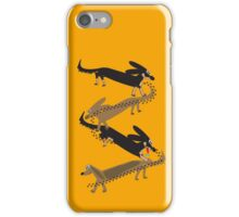 String of Sausages iPhone Case/Skin