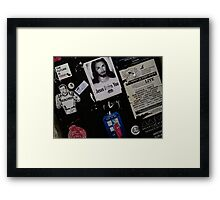 Wall art collage Framed Print