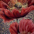 Red Poppies II by Cherie Roe Dirksen