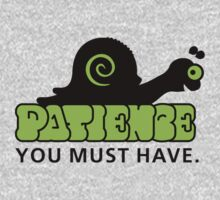 Patience - you must have VRS2 Kids Clothes