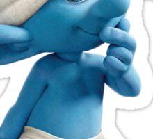 Clumsy Smurf Sticker