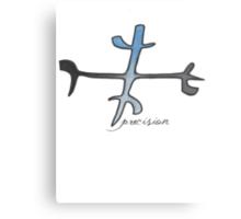 precision. #clary's runes Canvas Print