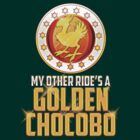 Final Fantasy VII - My Other Ride's A Golden Chocobo by Reverendryu