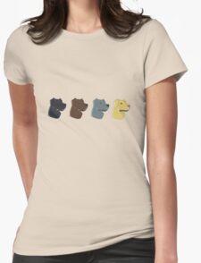 Labrador Retrievers Womens Fitted T-Shirt