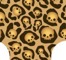 Bone Kandi - Leopard Print /dark/ Sticker