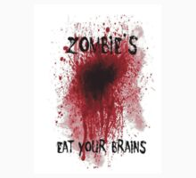 Zombies: Eat Your Brains by ToniHawkins