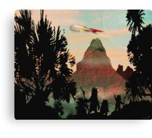 Zarathustra a Fuzzy Dream Canvas Print
