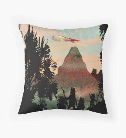 Zarathustra a Fuzzy Dream Throw Pillow