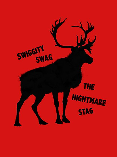 Swiggity Swag- The Nightmare Stag by nimbusnought