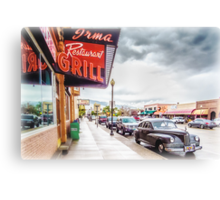 Downtown Cody Canvas Print
