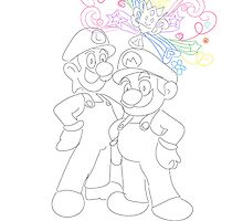 Mario And Luigi by genscullion