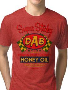 DAB-Honey oil-3 Tri-blend T-Shirt