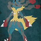 Mega Lucario by jehuty23