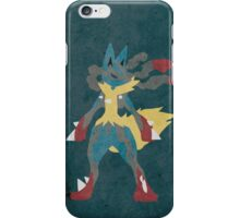 Mega Lucario iPhone Case/Skin