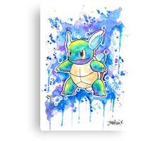 Cool WARTORTLE Watercolor Tshirts + More! ' Pokemon ' Jonny2may Canvas Print