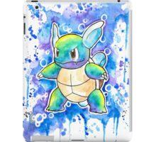 Cool WARTORTLE Watercolor Tshirts + More! ' Pokemon ' Jonny2may iPad Case/Skin