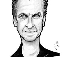 Caricature - Peter Capaldi, the 12th Doctor by Jan Szymczuk